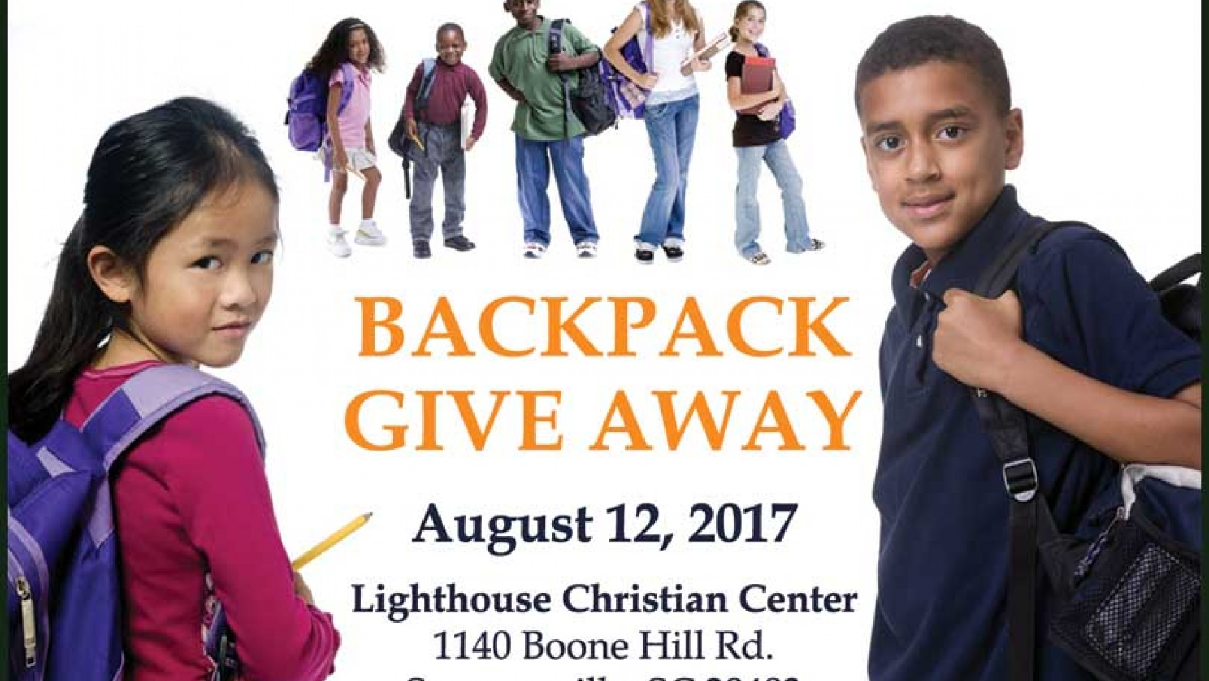 Backpack Give Away