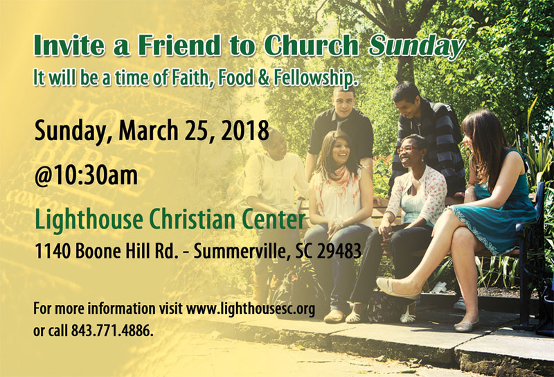 Invite a Friend to Church Sunday