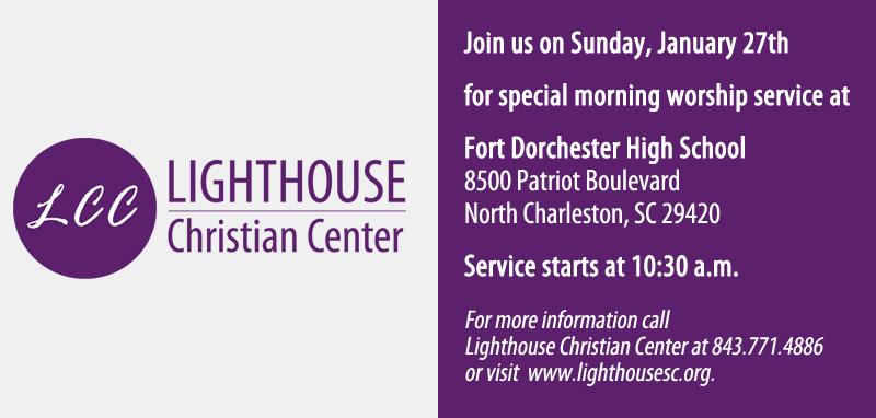 Sunday Morning Worship Service @ Fort Dorchester High School
