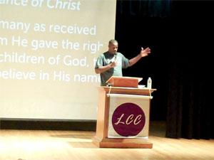 Pastor Byron Graham