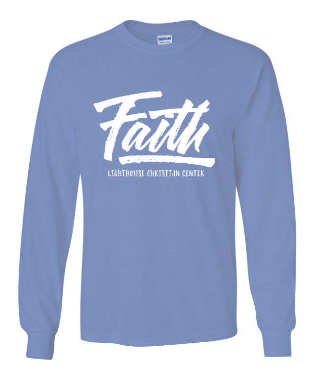 Faith long sleeve shirt