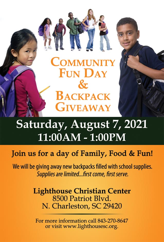 Community Fun Day and Backpack Giveaway